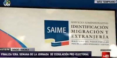 Finalizó primera jornada de cedulación Pre-Electoral