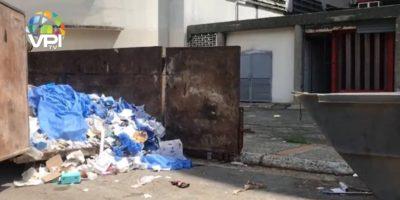 HUC entre la basura: denuncian irregular recolección de desechos biológicos