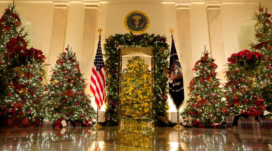 El espíritu de la Navidad llegó a la Casa Blanca