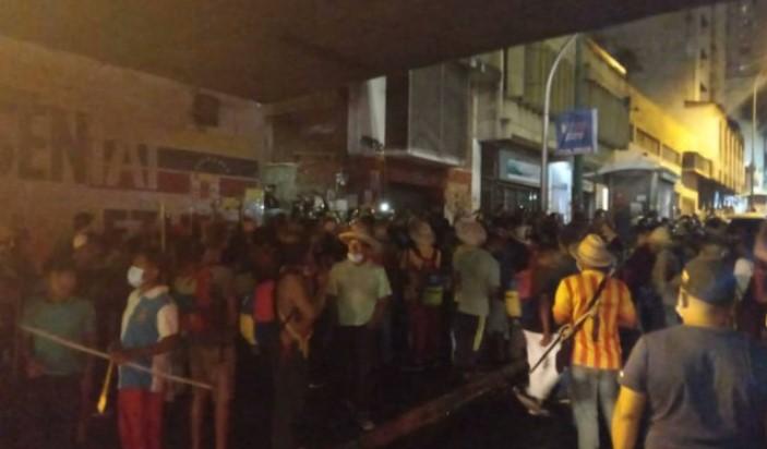¡A pocos metros de Miraflores! Enfrentamiento entre indígenas Yukpa y PNB