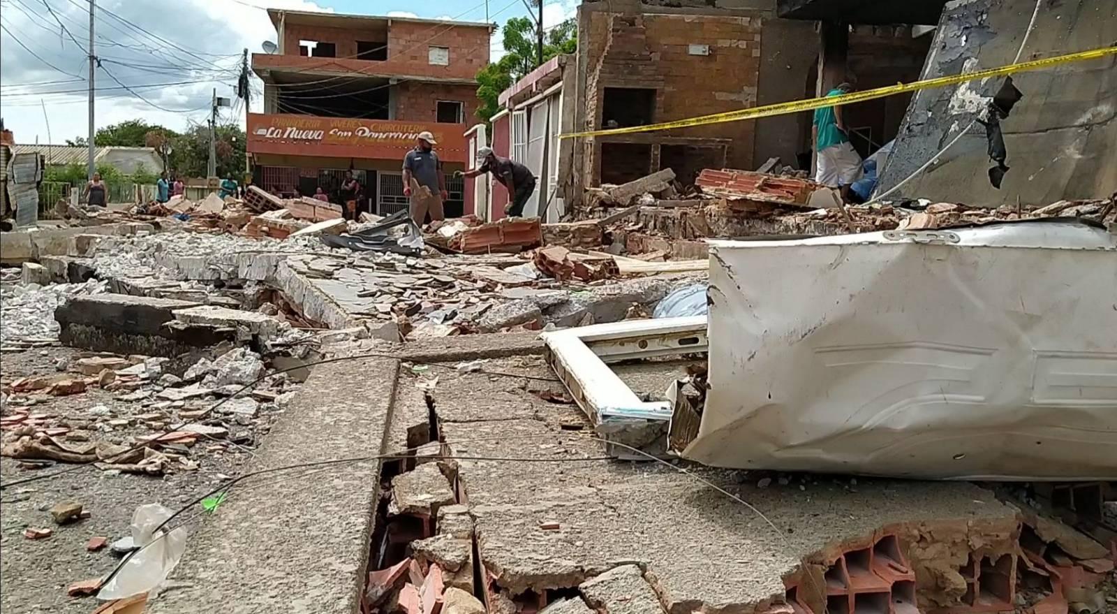 Falleció niña de un año de edad víctima de explosión en Maracaibo