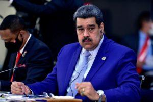 Nicolás Maduro en la reunión de la Celac de 2021. Fuente: Celac.